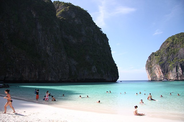 Top Destinations, Top List, Top Places on Earth, Travel, Top 5 Beaches, Beach, Tourist Destination, Anse Source Beach, The Pink Beach, Larvoto Beach, Phi Phi Beach, Tahiti Beach