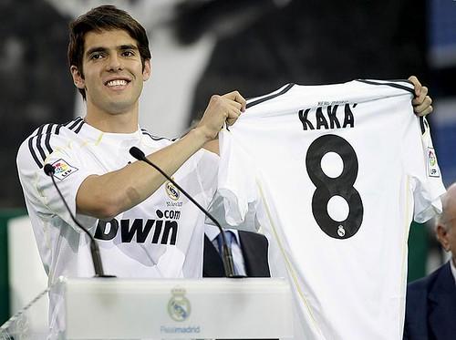 Presentación de Kaká al Real Madrid