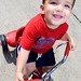 Small photo of Landen's Radio Flyer