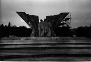 Bratislava Monument to Klement Gottwald
