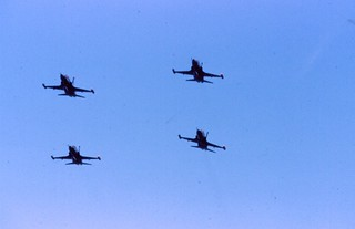 Canadair CF-5 Freedom Fighters