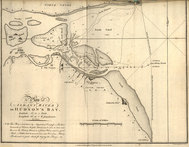 A Plan Of Albany River In Hudsons Bay 1774  Flickr