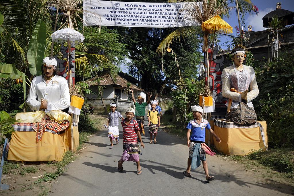 Làng quê tại Ubud