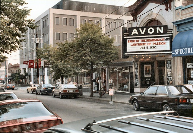 F_01A College Hill - Avon Cinema (1938) - 260 Thayer Street - Looking South-West - Where H. P. Lovecraft's, Bride of Re-Animator Premiered