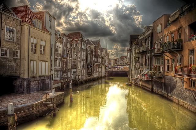 Wijnhaven, Dordrecht, Holland [HDR]