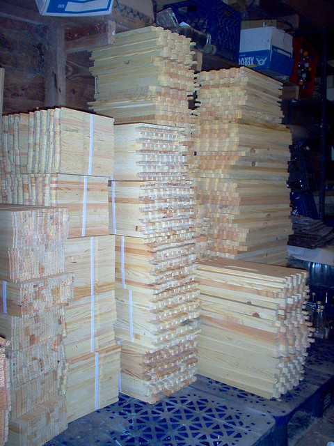 Beekeeping Equipment Supplies Beehive Wood Parts Frames