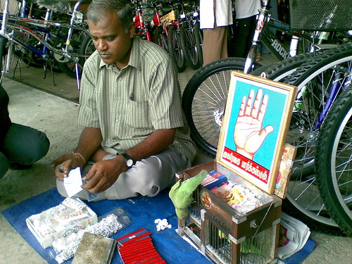Fortune teller in Little India, Klang, Malaysia