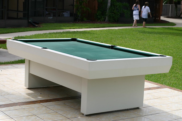 Outdoor Pool Table Flickr Photo Sharing