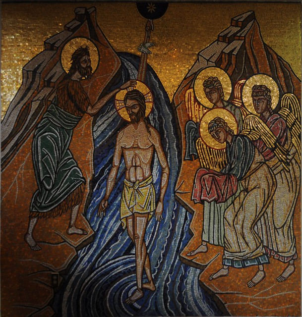 Seattle St. D's - Baptism of Jesus - transformed from Flickr via Wylio