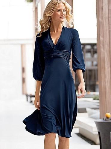Victorias Secret V Neck Curvy Jersey Dress Explore