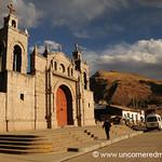Main Square in Yauli, Peru