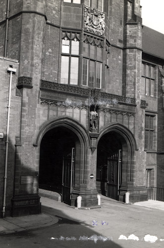 063985:Entrance to Armstrong Building University of Newcastle upon Tyne Newcastle upon Tyne Unknown c.1960