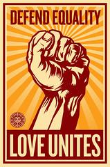 Shepard Fairey - Defend Equality Remix contest