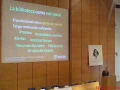 bibliotecas como redes sociales