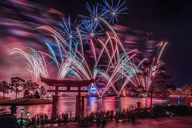 Fireworks Friday:  Pink IllumiNations