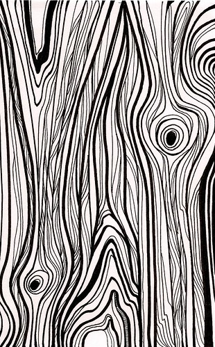 Line Art Wood Grain : Wood grain black and white drawing pixshark