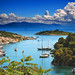 Paxos Harbour by Chris Snowden