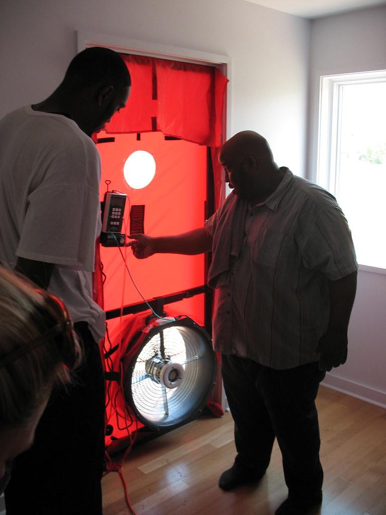 Blower Door Test Equipment Test Equipment Blower Door