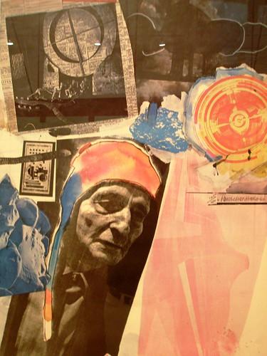 Robert Rauschenberg 1966 ' Homage to Frederick Kiesler', MOCA, Cleveland Ohio