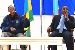 President Kagame and President Kabila meet in DRC - Goma