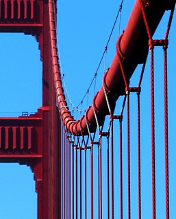The curves of golden gate