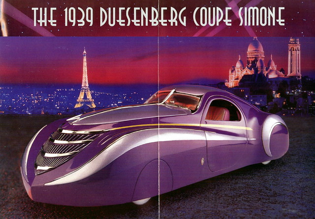 1939 duesenberg coupe simone flickr photo sharing for Art et decoration 1939