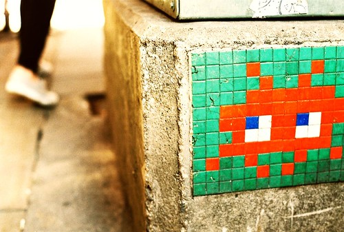 space invaders invade bangkok