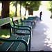 benches mirabell garden