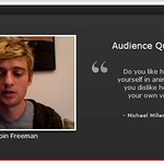 Crispin Freeman Q&A (My Question ^_^)