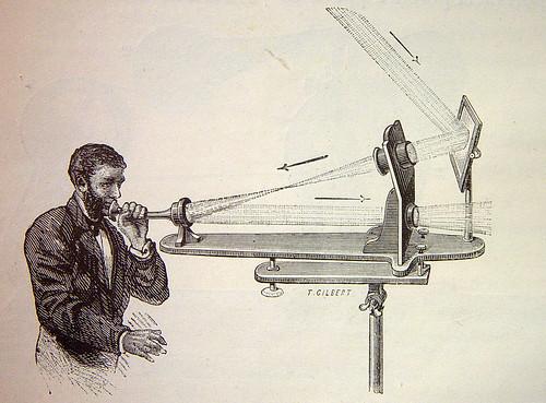 Fotófono, fuente :  wikipedia.