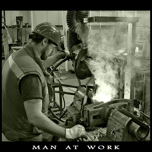 Man at Work