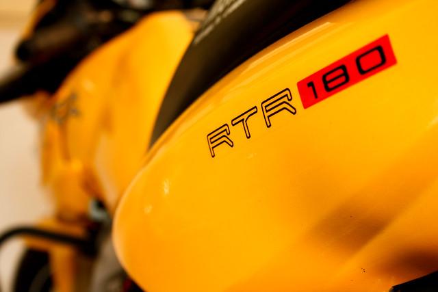 Apache RTR 180 - Abhi's Apache RTR 180... - By: Naveen Roy - Flickr - Photo Sharing!