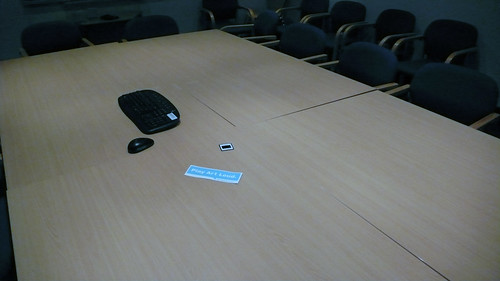 everyone left the meeting