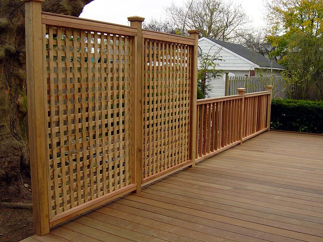 ipe deck and privacy railing flickr photo sharing