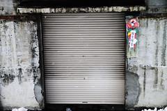 art, wall, garage door, white, facade,