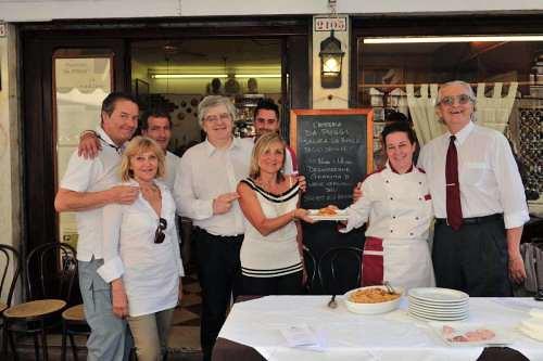 Venezia incontra il tonno rosso di corsa e gli spaghetti for Ristorante il rosso bologna