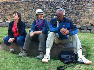 Faculty on Peru trip, July 2012.
