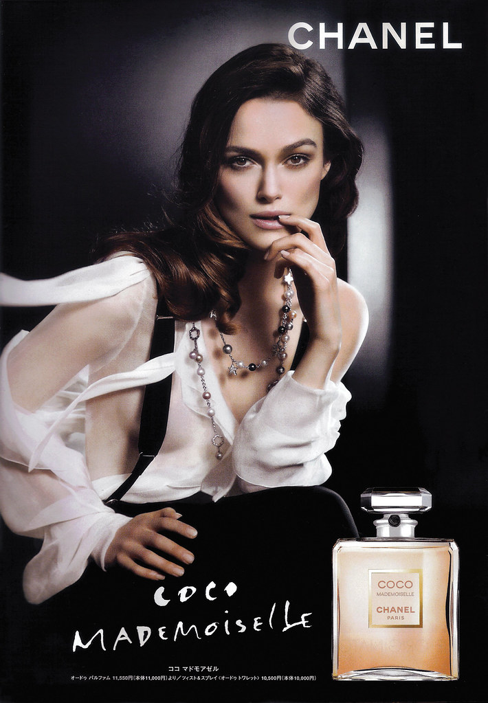 keira knightley y el perfume chanel. Black Bedroom Furniture Sets. Home Design Ideas