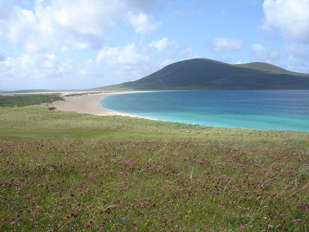 скариста пляж шотландия