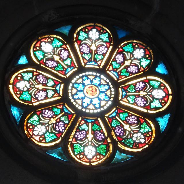 Glass Windows Round Stained Glass Window