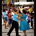Sunday dance, Palapas Square, Cancun