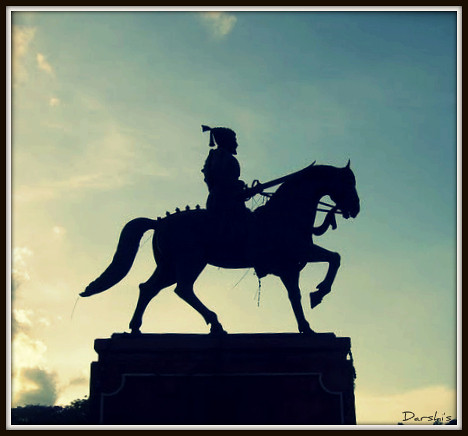 Shivaji Maharaj Logo http://www.flickr.com/photos/42246281@N07/galleries/72157622339981443