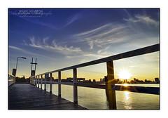 HDR Rotterdam Dock Sunset