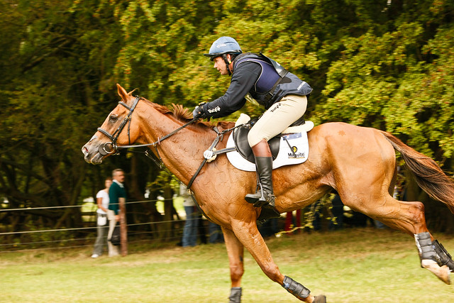 Cross Country at Burghley