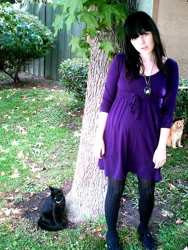 Daily Outfit: Purple Priestess