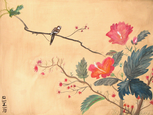 Japanese watercolor painting flickr photo sharing for Japanese watercolor paintings