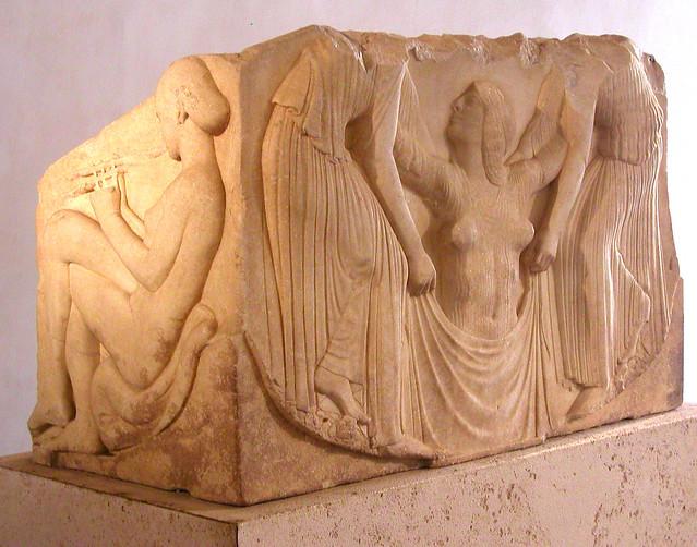 Birth of Aphrodite, Ludovisi Throne, 5th c. BC, Magna ...