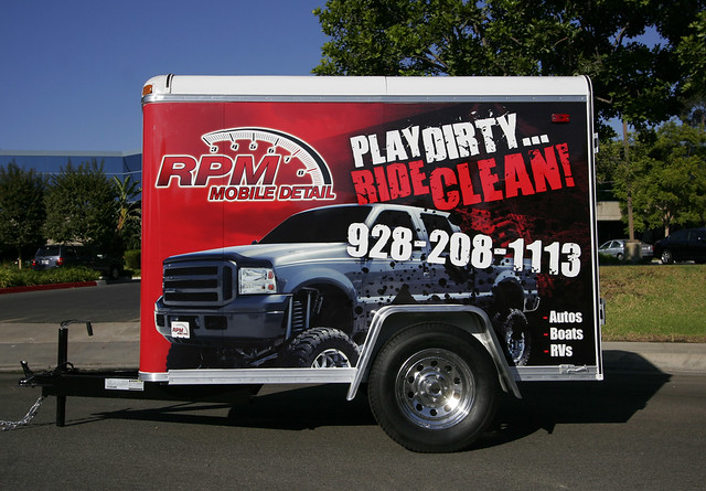 auto detailing trailer side view flickr photo sharing