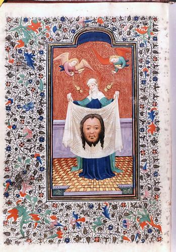 Iluminura do livro de horas do rei D. Duarte (1401-1433) - Portugal.