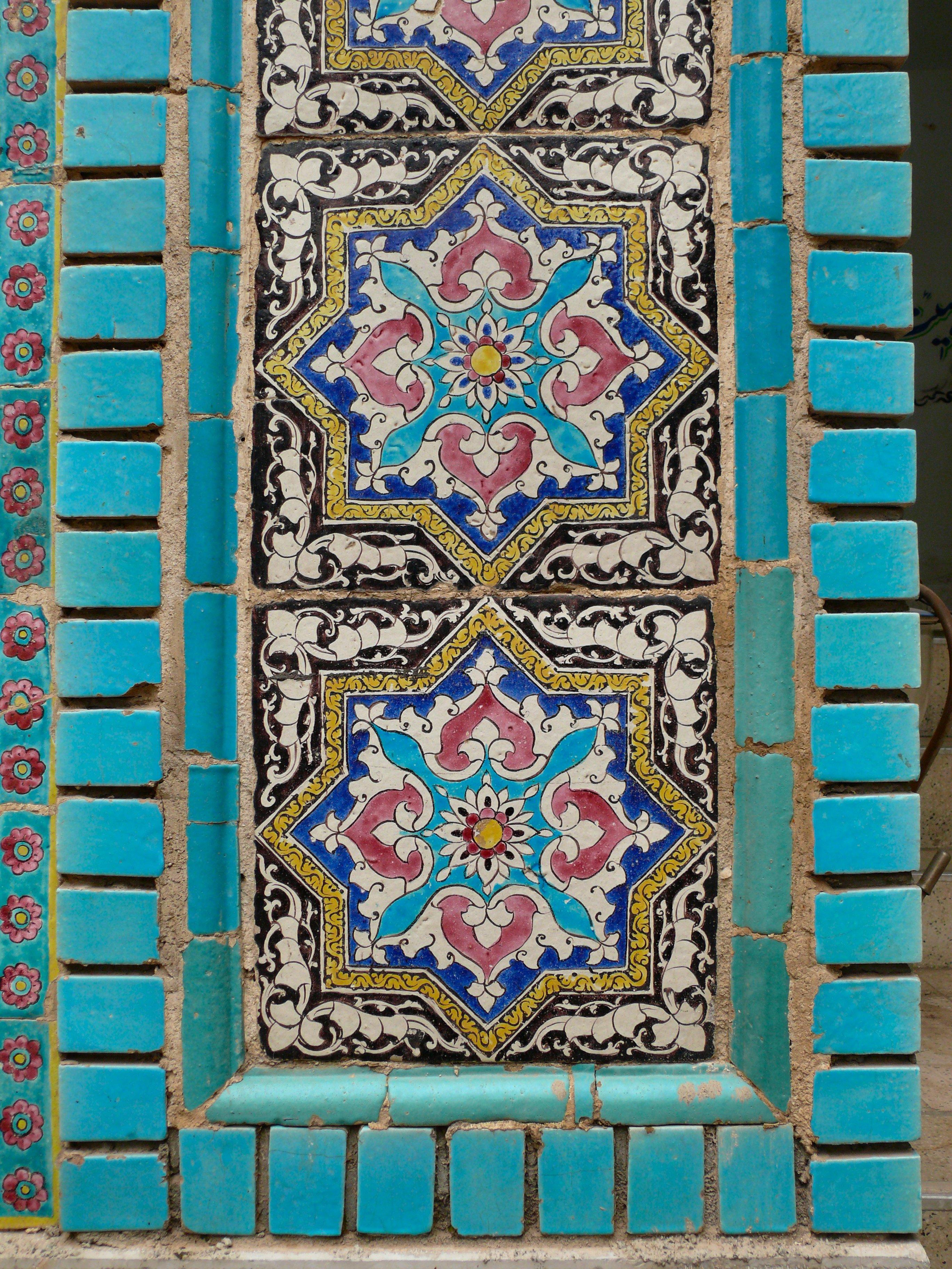 Large Ceramic Tile Kitchen Countertop